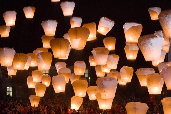 Importante festa di Taiwan