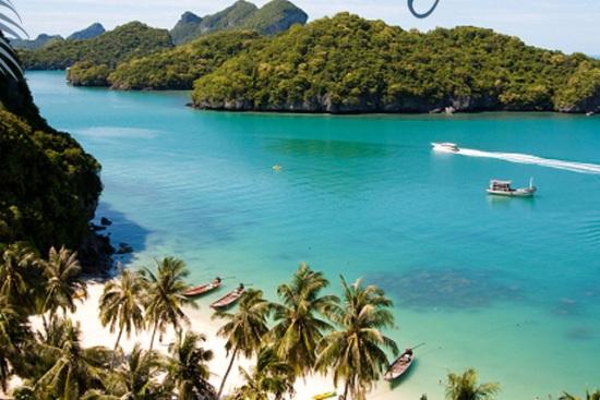 Il mare stupendo di Koh Samui