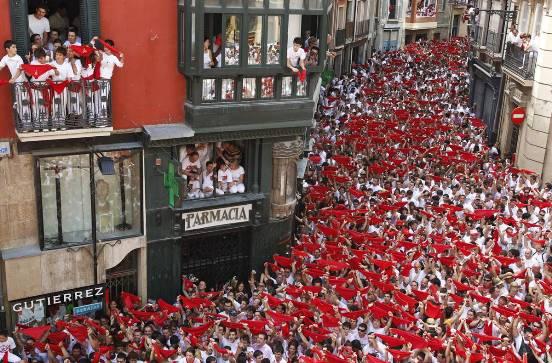 La festa di Pamplona