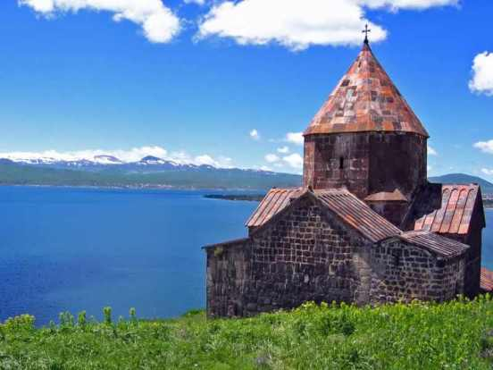 Una splendida veduta dell'Armenia