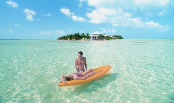 Le acque cristalline del mar dei Caraibi