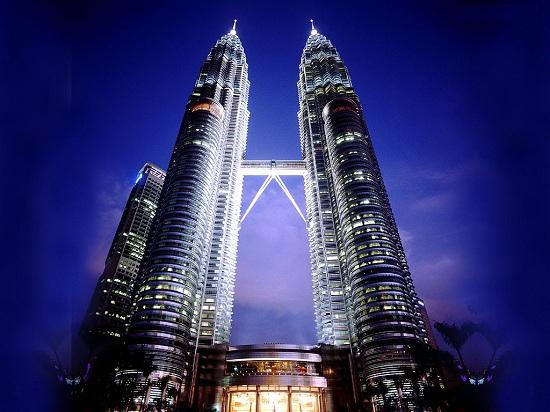 Torri Petronas di Kuala Lumpur