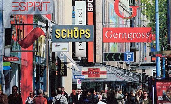 Shopping a VIenna