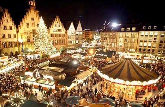 Lo sfavillante mercatino di Natale