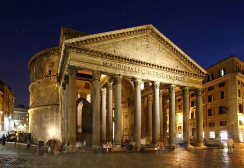 Visita al Pantheon di Roma