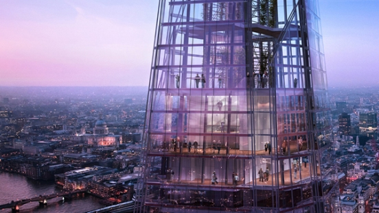 Il The Shard di Renzo Piano: la finestra su Londra