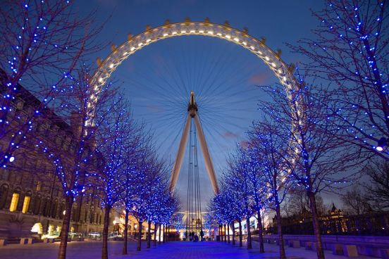 Londra di notte - Inghilterra