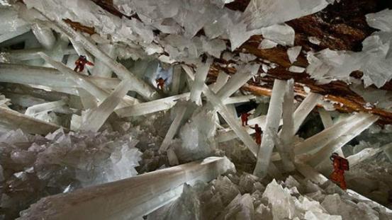 I Cristalli giganti di Naica, Messico
