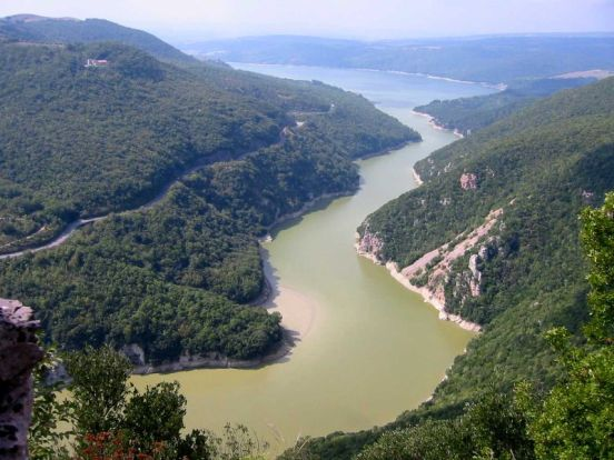 area del WWF nell'area del lago di Alviano.