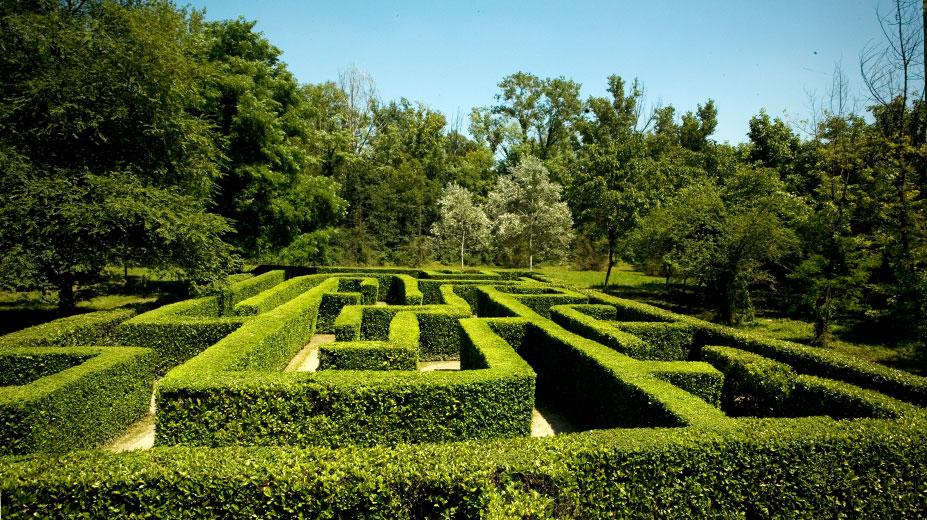Il labirinto di Parco della Preistoria