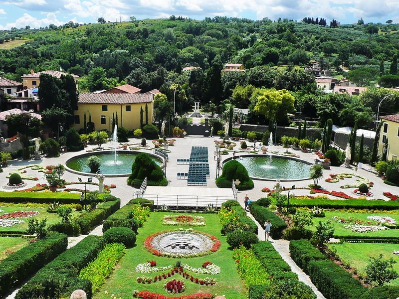 Labirinto di Villa Garzoni a Collodi