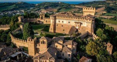 Vista del Castello di Gradara